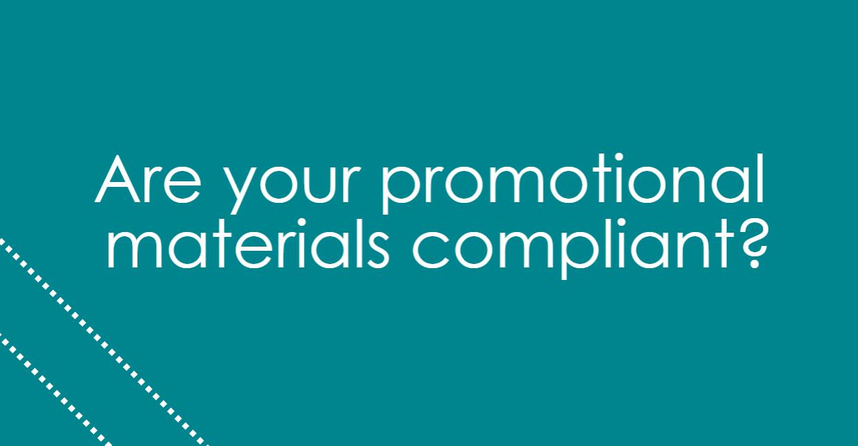 Are your Marketing Materials Compliant (1)